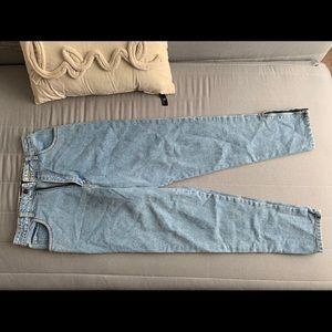 vintage gap jeans w/ zipper legs